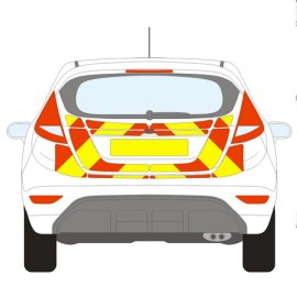 FORD FIESTA CHEVRON KIT 2008+