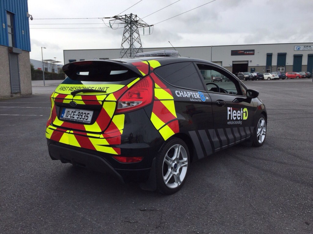 First Response Vehicle branding by Fleet ID