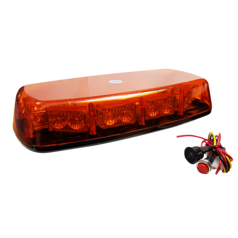 SINGLE BOLT MINI LIGHTBAR WITH PATTERN SWITCH (300MM) (70MPH)